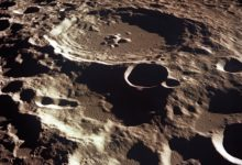 Daedelus Crater on the Moon